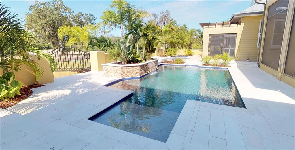 Pool area. - Single Family Home for sale at 1289 Casper St, Port Charlotte, FL 33953 - MLS Number is C7407177
