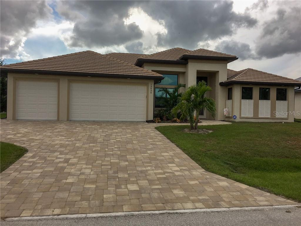 As you can see by this 3rd neighboring home; the area is attracting a lot of new construction!  Yours could be next. - Vacant Land for sale at 13831 Begonia Cir, Port Charlotte, FL 33981 - MLS Number is C7408155