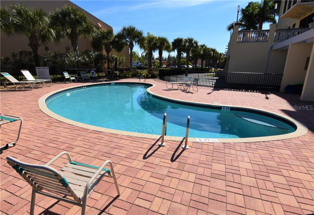Heated community pool - Condo for sale at 1340 Rock Dove Ct #124, Punta Gorda, FL 33950 - MLS Number is C7411764