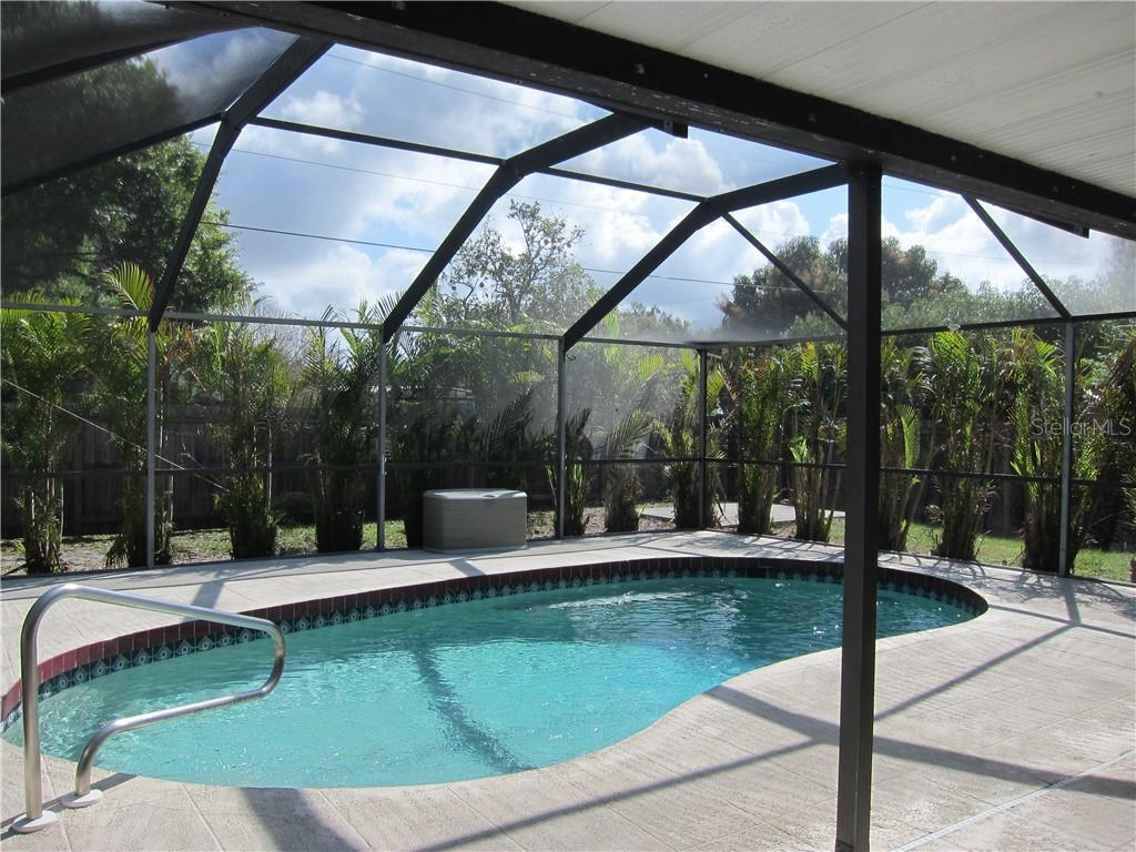 Large private lanai area with sparking pool - Single Family Home for sale at 1170 Richter St, Port Charlotte, FL 33952 - MLS Number is C7411803
