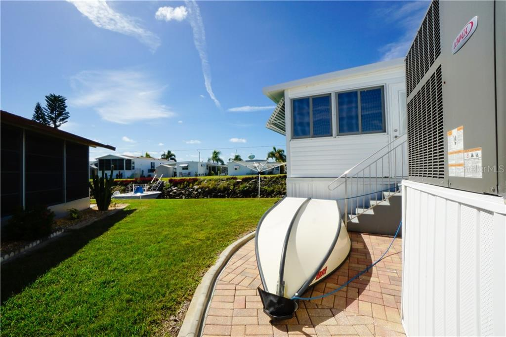 This Jon Boat Stays!! - Manufactured Home for sale at 10101 Burnt Store Rd #23, Punta Gorda, FL 33950 - MLS Number is C7413977