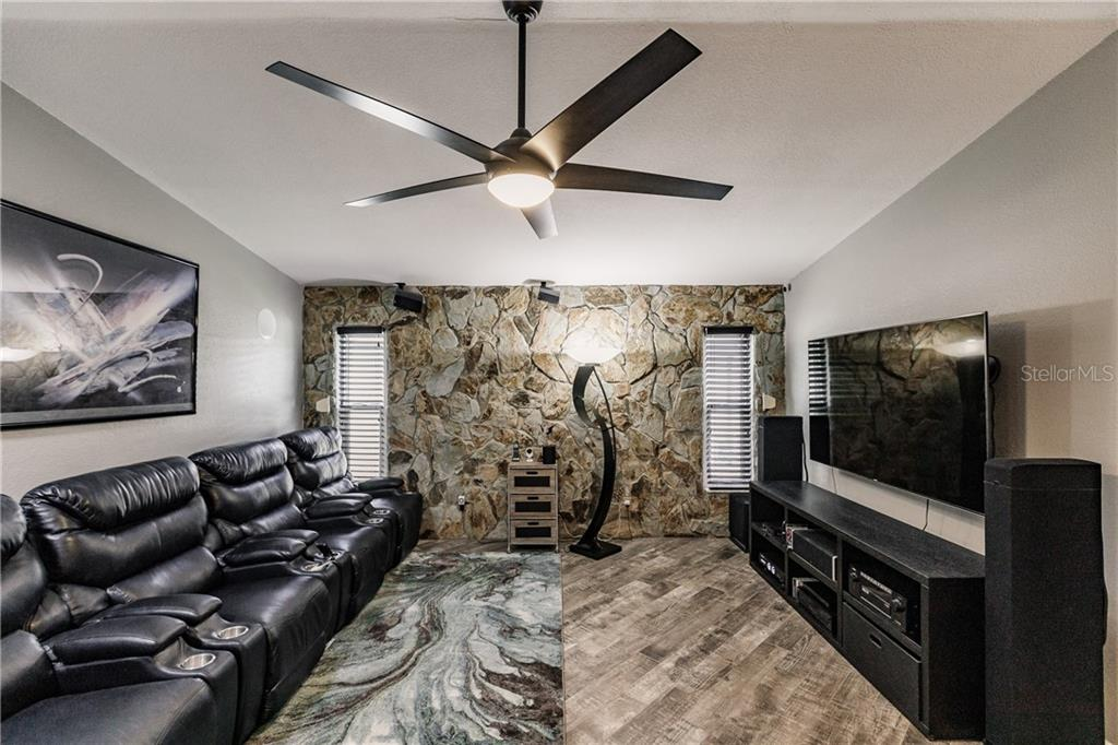 Home Theater/Family Room - Single Family Home for sale at 1484 Abscott St, Port Charlotte, FL 33952 - MLS Number is C7414670