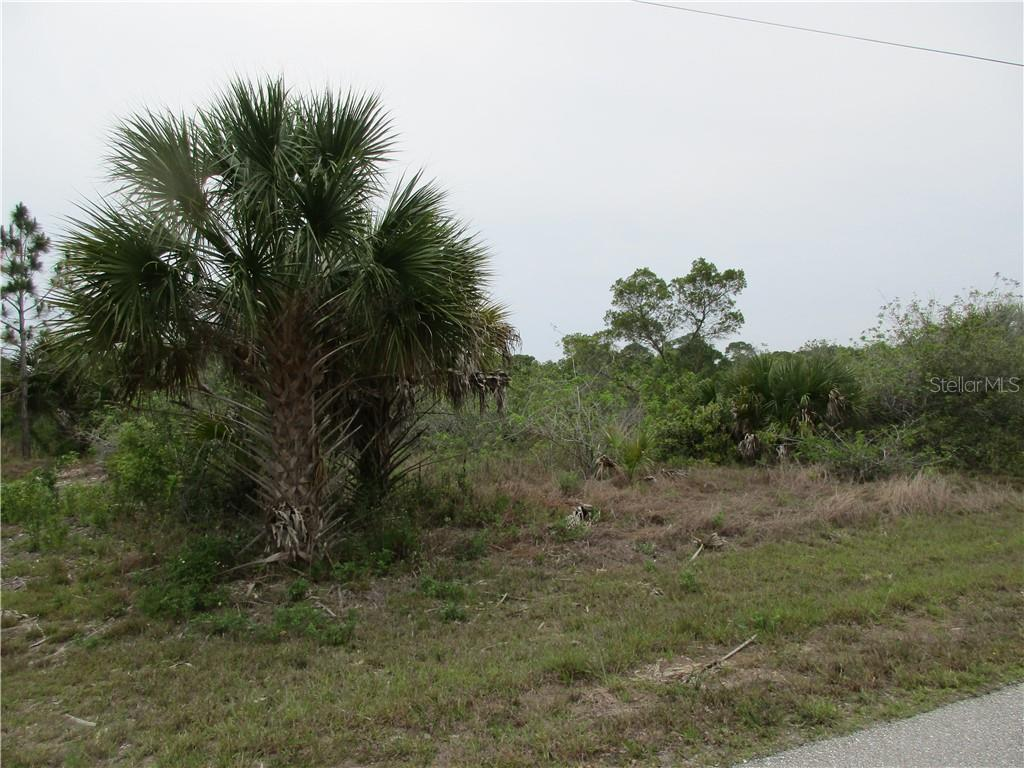 road frontage - Vacant Land for sale at 10263 Redondo St, Port Charlotte, FL 33981 - MLS Number is C7415695