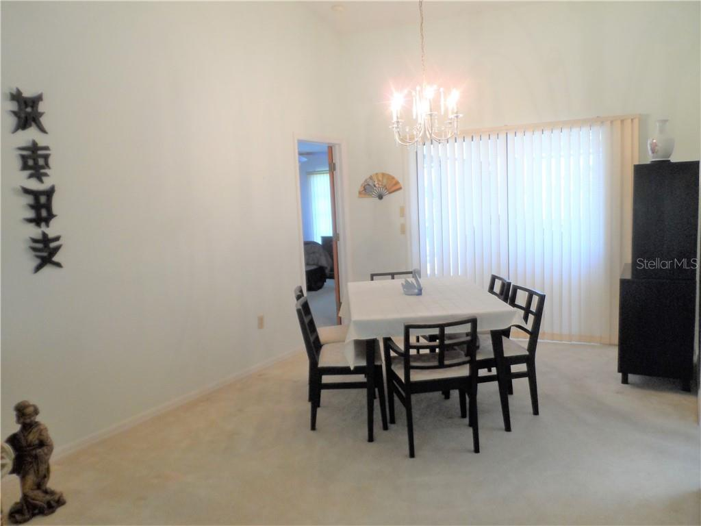 Dining room - Single Family Home for sale at 24126 Santa Inez Rd, Punta Gorda, FL 33955 - MLS Number is C7416081