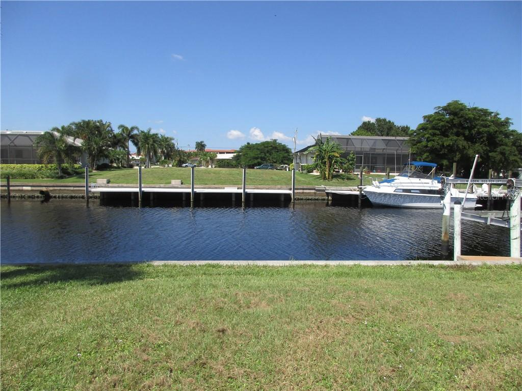 You could be sitting here by your pool after a wonderful day on the water. - Vacant Land for sale at 53 Tropicana Dr, Punta Gorda, FL 33950 - MLS Number is C7420346
