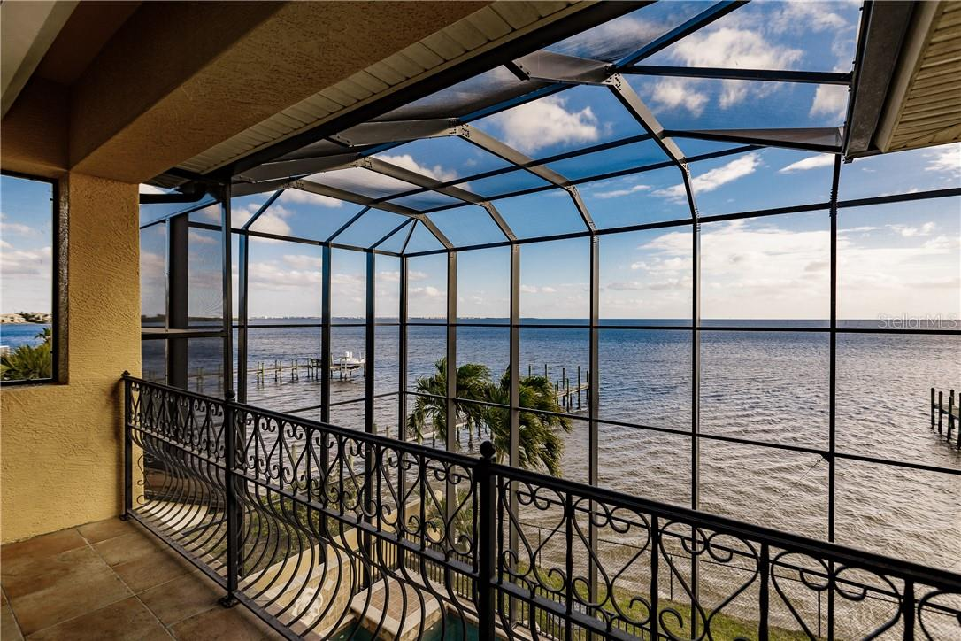 WATER VIEW FROM 2ND STORY - Single Family Home for sale at 4484 Harbor Blvd, Port Charlotte, FL 33952 - MLS Number is C7426993