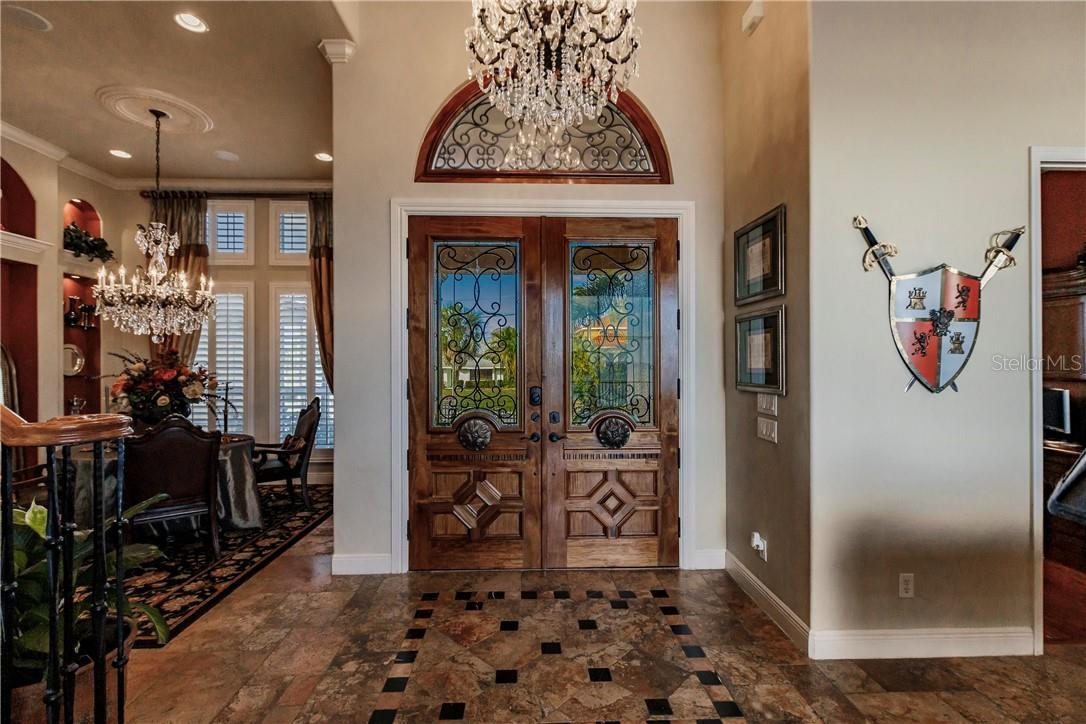GRAND FOYER - Single Family Home for sale at 4484 Harbor Blvd, Port Charlotte, FL 33952 - MLS Number is C7426993