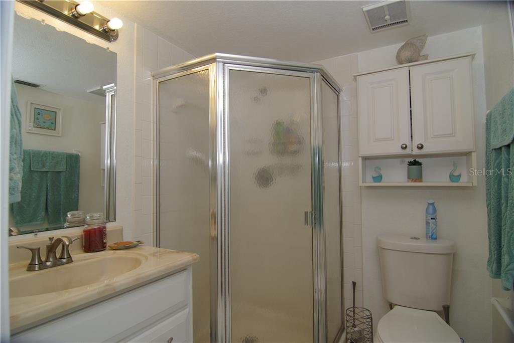 Master Bath. - Condo for sale at 25100 Sandhill Blvd #X-101, Punta Gorda, FL 33983 - MLS Number is C7428429