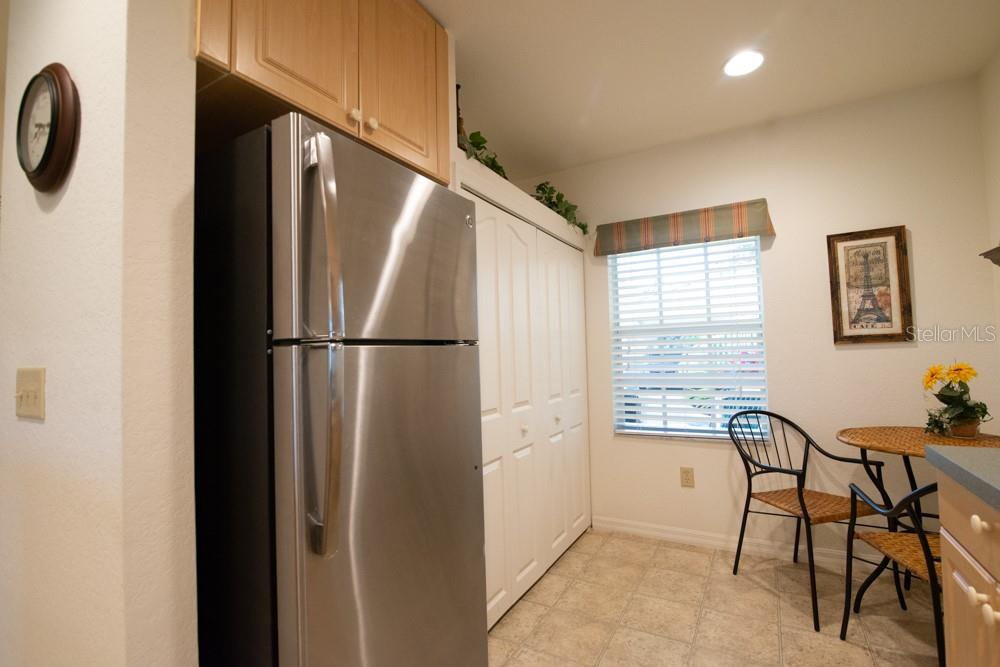 Large Spacious Pantry in this light and bright kitchen - Condo for sale at 1235 Saxony Cir #5104, Punta Gorda, FL 33983 - MLS Number is C7436882