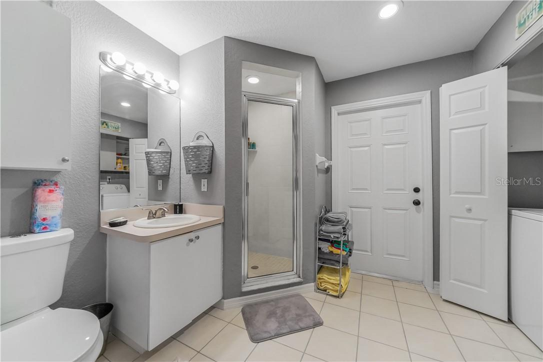 Bathrooom/laundry - House #3 BnB - Single Family Home for sale at 1 Woodland Dr, Punta Gorda, FL 33982 - MLS Number is C7436906