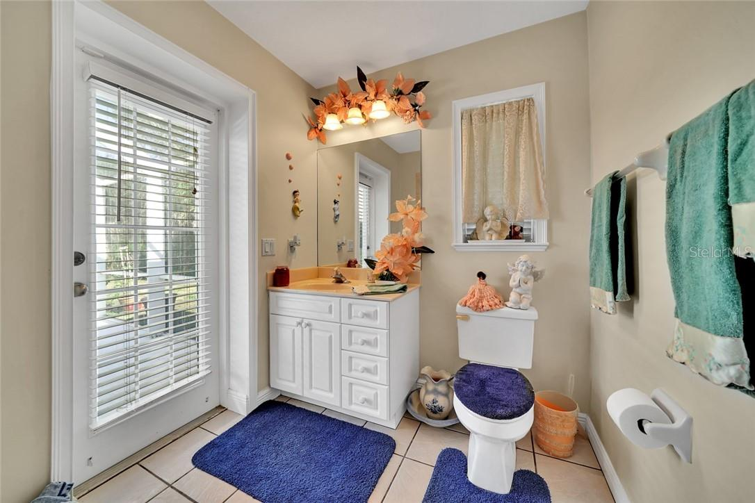 2nd full bathroom in guest house with access from the pool - Single Family Home for sale at 10230 Sw County Road 769, Arcadia, FL 34269 - MLS Number is C7437596