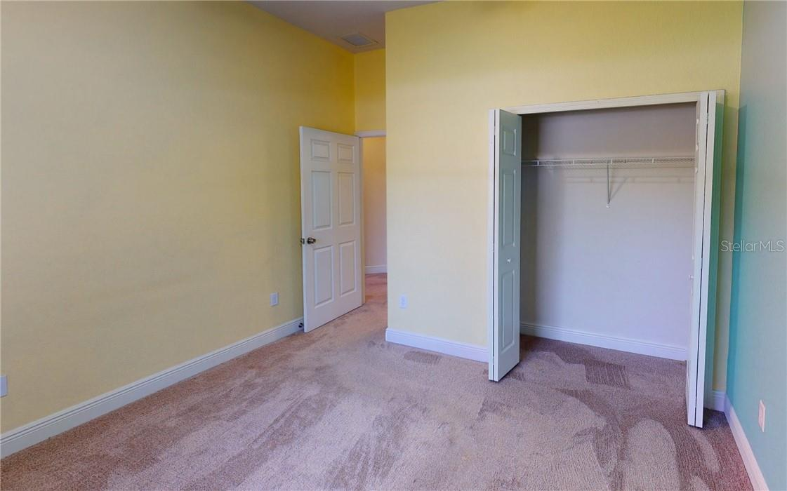 2nd Bedroom closet - Single Family Home for sale at 11905 Florence Ave, Port Charlotte, FL 33981 - MLS Number is C7441003