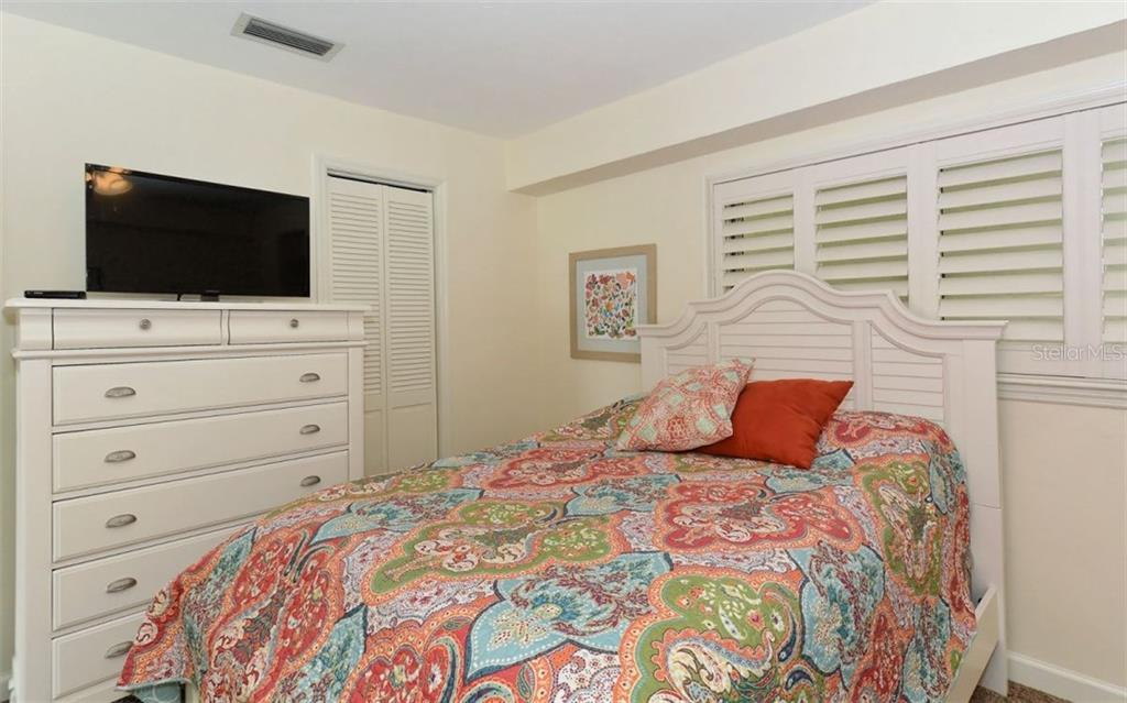 2nd bedroom - Single Family Home for sale at 5830 Midnight Pass Rd #504, Sarasota, FL 34242 - MLS Number is A4166623