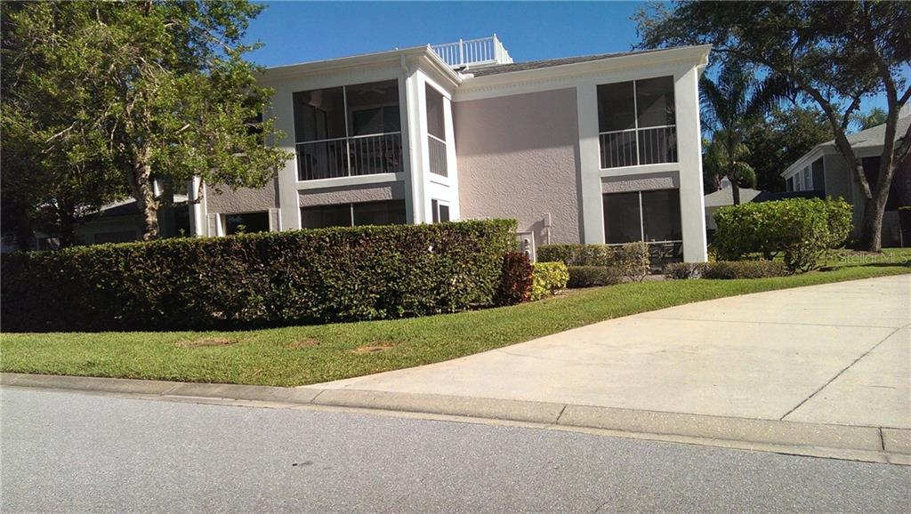 Unit has 2 screened lanai.  Bottom floor 2 screened lanais - Condo for sale at 5693 Sheffield Greene Cir #49, Sarasota, FL 34235 - MLS Number is A4167007