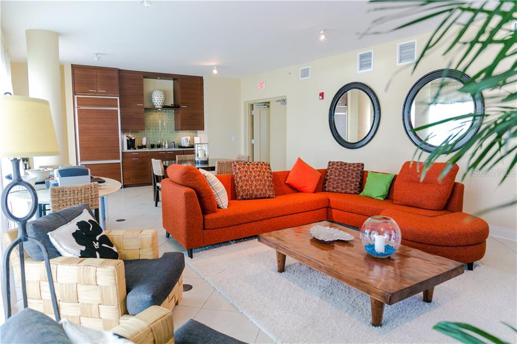 Well appointed community social room. - Condo for sale at 6512 Midnight Pass Rd #406, Sarasota, FL 34242 - MLS Number is A4171720