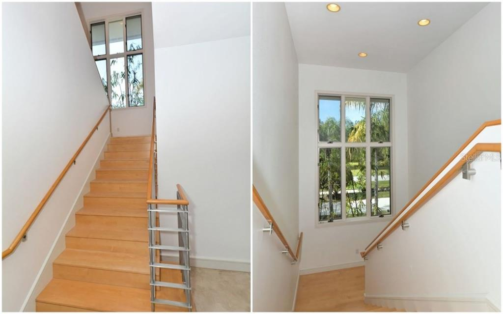 Central Main Staircase - Single Family Home for sale at 3111 Dick Wilson Dr, Sarasota, FL 34240 - MLS Number is A4176685