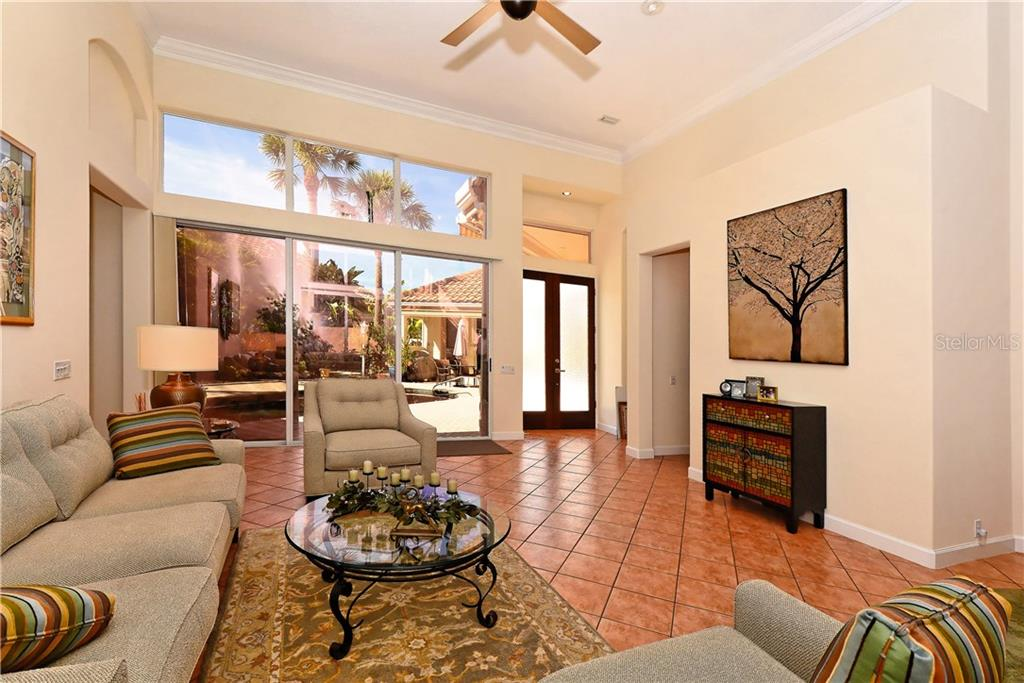 Living Room - Single Family Home for sale at 602 Weston Pointe Ct, Longboat Key, FL 34228 - MLS Number is A4178531