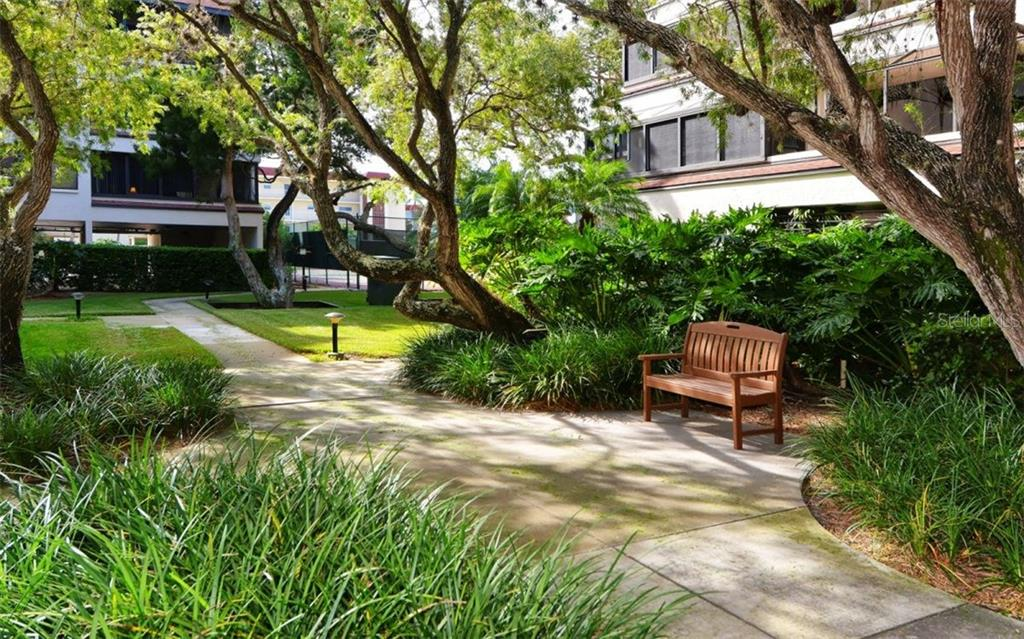 Community walking paths - Condo for sale at 6263 Midnight Pass Rd #101, Sarasota, FL 34242 - MLS Number is A4182245