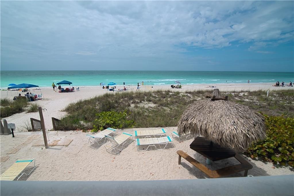 View straight out from deck - Condo for sale at 100 73rd St #202a, Holmes Beach, FL 34217 - MLS Number is A4184505