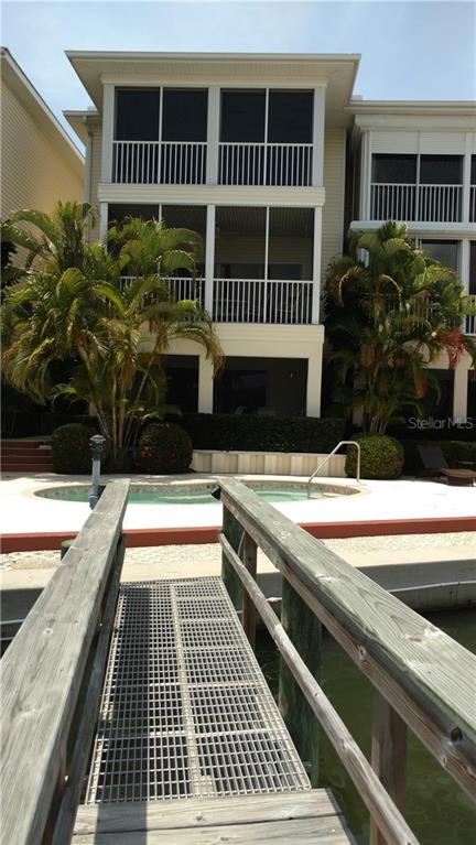 Bring your boat! Deep water dock! - Condo for sale at 9209 Midnight Pass Rd #5, Sarasota, FL 34242 - MLS Number is A4185067