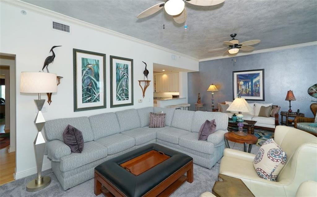 Great room - Condo for sale at 1310 Old Stickney Point Rd #e53, Sarasota, FL 34242 - MLS Number is A4186018