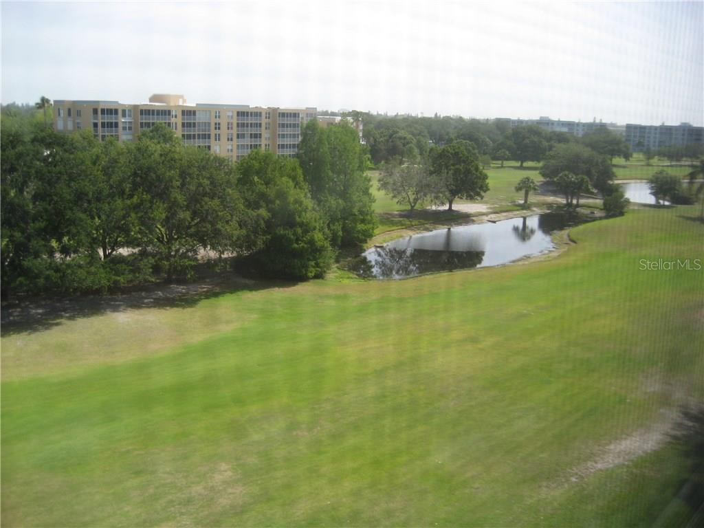 Unit offers views of the golf course and water hazards - Condo for sale at 3820 Ironwood Ln #606i, Bradenton, FL 34209 - MLS Number is A4187664