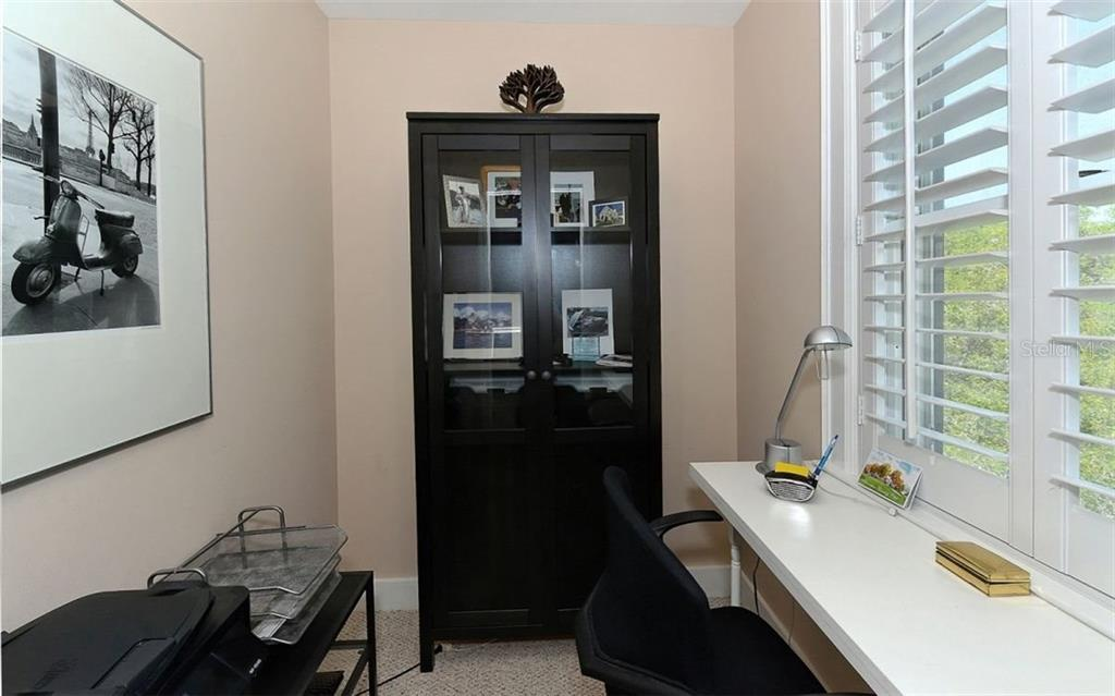 Office in Master bedroom - Townhouse for sale at 68 Bishops Court Rd #115, Osprey, FL 34229 - MLS Number is A4187983