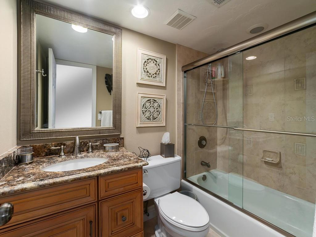 2nd bathroom - Condo for sale at 6236 Midnight Pass Rd #406, Sarasota, FL 34242 - MLS Number is A4188093