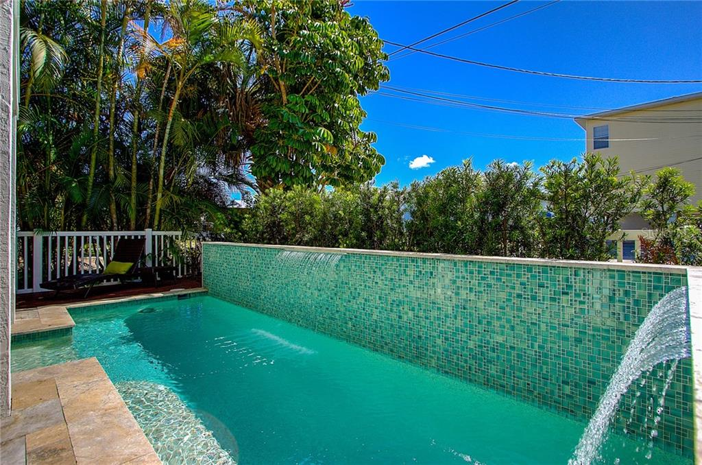 Pool - Single Family Home for sale at 2502 Avenue B, Bradenton Beach, FL 34217 - MLS Number is A4191682