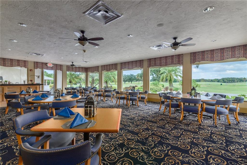 One of the Dining Spaces in the Club House. - Single Family Home for sale at 11823 River Shores Trl, Parrish, FL 34219 - MLS Number is A4194999