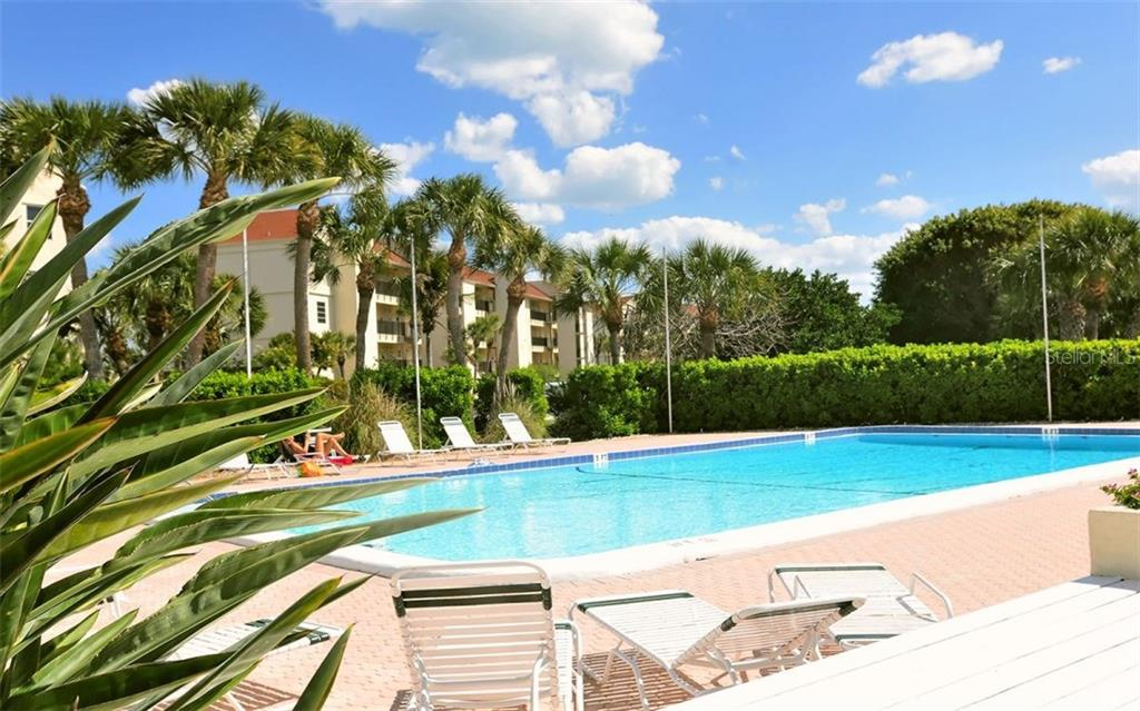 Junior Olympic Pool - Condo for sale at 4700 Gulf Of Mexico Dr #203, Longboat Key, FL 34228 - MLS Number is A4195618