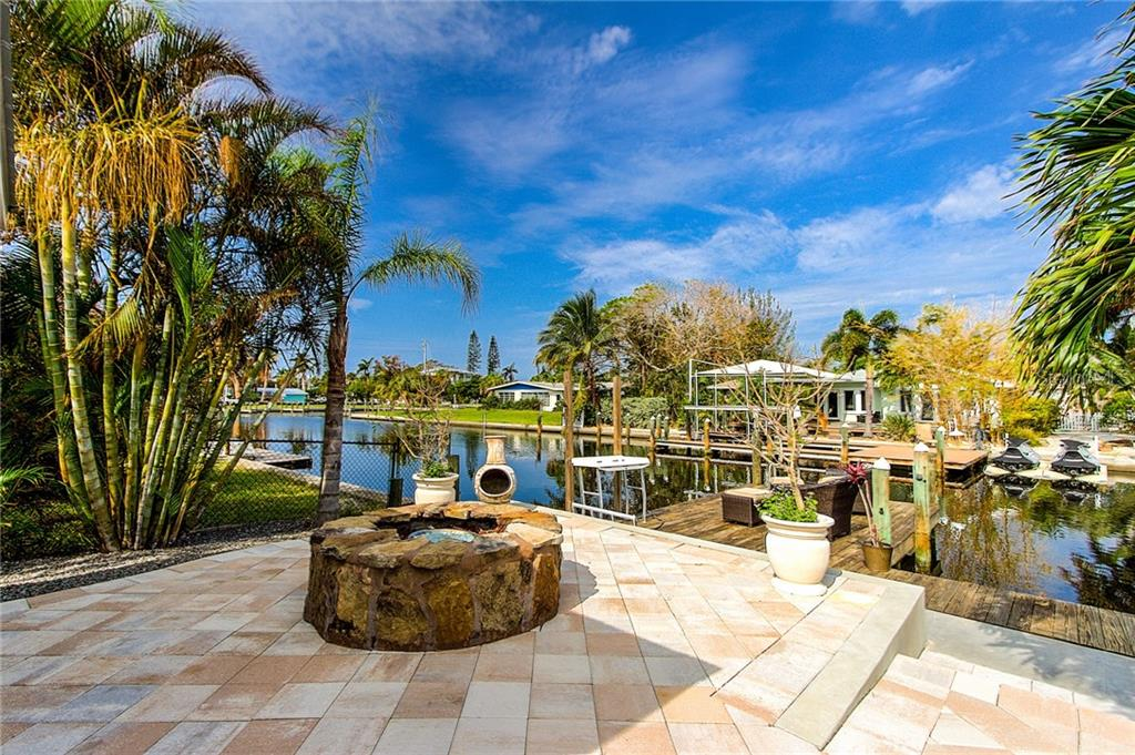 Fire Pit - Single Family Home for sale at 504 75th St, Holmes Beach, FL 34217 - MLS Number is A4196523