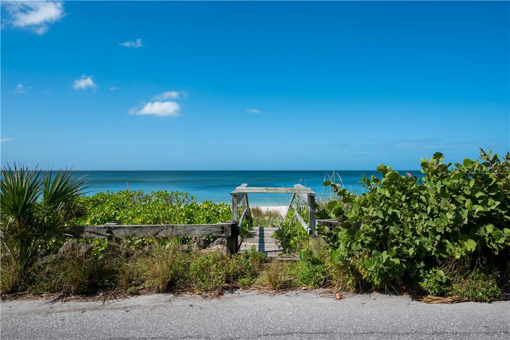 Your own private stairs to your own private deeded beach - Vacant Land for sale at 3220 Casey Key Rd, Nokomis, FL 34275 - MLS Number is A4197366
