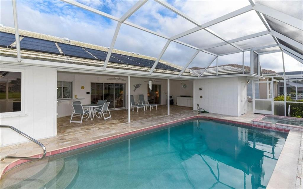 Perfect Entertaining Lanai! - Single Family Home for sale at 1632 Valley Dr, Venice, FL 34292 - MLS Number is A4197771