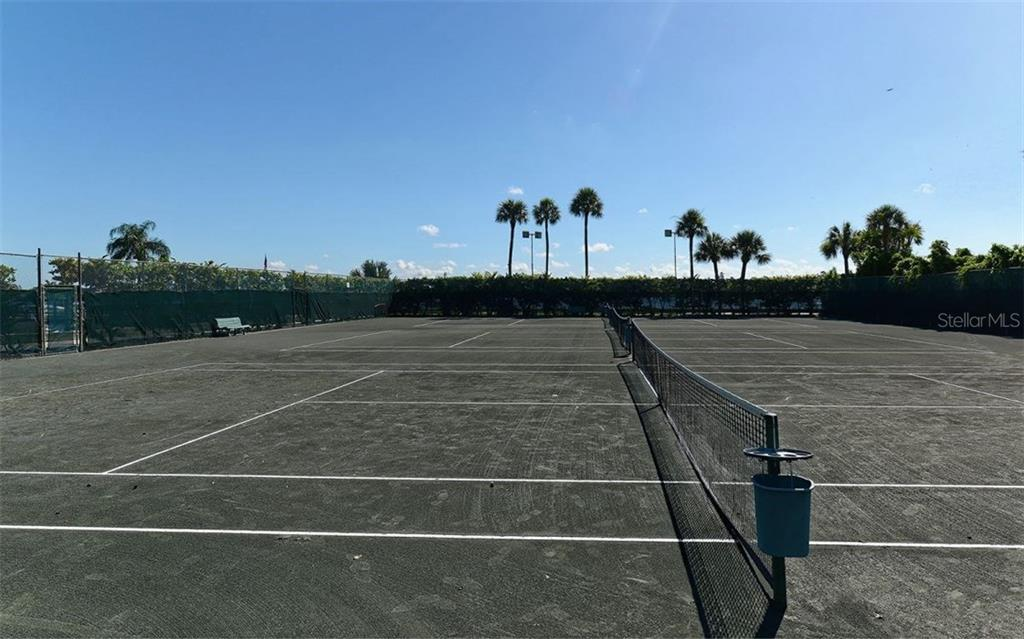 Tennis courts - Condo for sale at 5855 Midnight Pass Rd #328, Sarasota, FL 34242 - MLS Number is A4200358