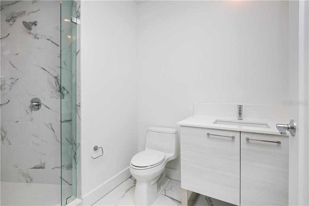 3rd bathroom - Condo for sale at 1155 N Gulfstream Ave #305, Sarasota, FL 34236 - MLS Number is A4202467