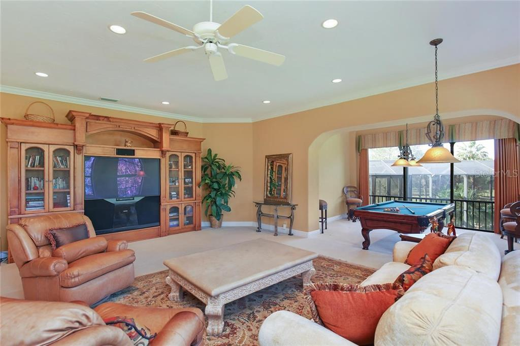 Bonus/game room with wet bar - Single Family Home for sale at 7300 Chameleon Way, Sarasota, FL 34241 - MLS Number is A4203429