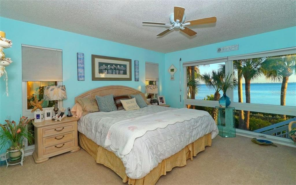 Bedroom 2 with postcard views! - Single Family Home for sale at 3908 Bayside Dr, Bradenton, FL 34210 - MLS Number is A4207355