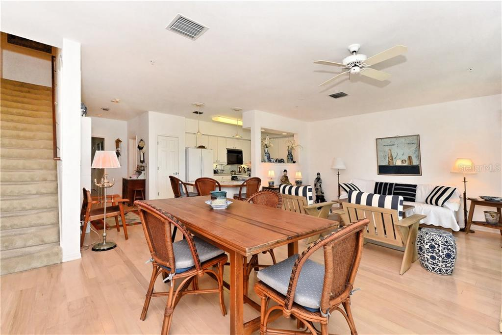 Ground level relaxing space overlooking the Gulf of Mexico - Townhouse for sale at 6843 Gulf Of Mexico Dr, Longboat Key, FL 34228 - MLS Number is A4208726