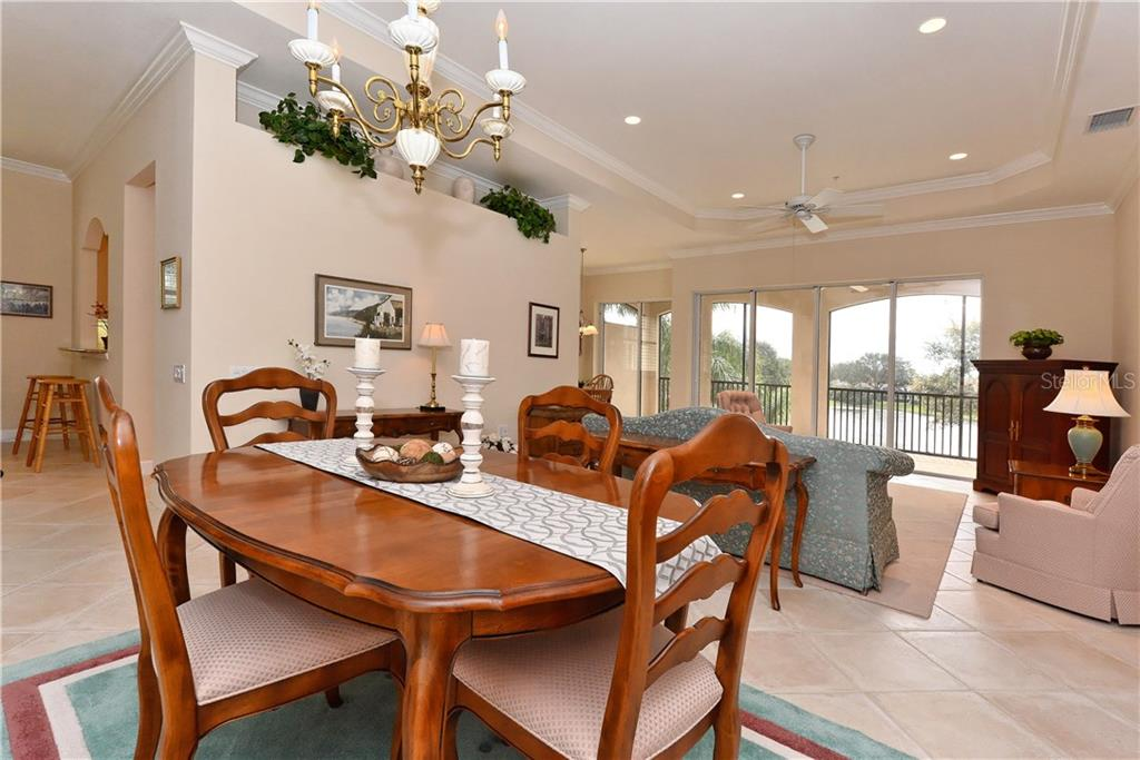 Dining room. - Condo for sale at 5242 Parisienne Pl #201bd30, Sarasota, FL 34238 - MLS Number is A4208770