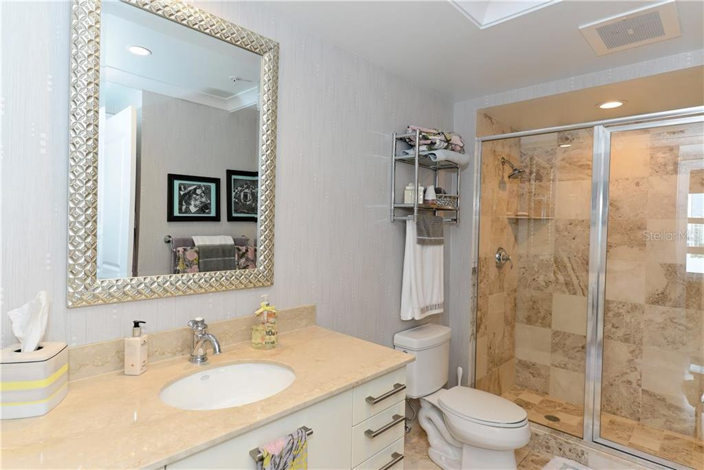 Guest Bathroom. - Condo for sale at 1350 Main St #1106, Sarasota, FL 34236 - MLS Number is A4209424