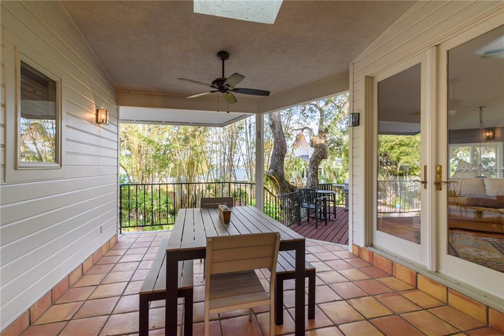 Outdoor Dining Room - Single Family Home for sale at 6609 Peacock Rd, Sarasota, FL 34242 - MLS Number is A4210220