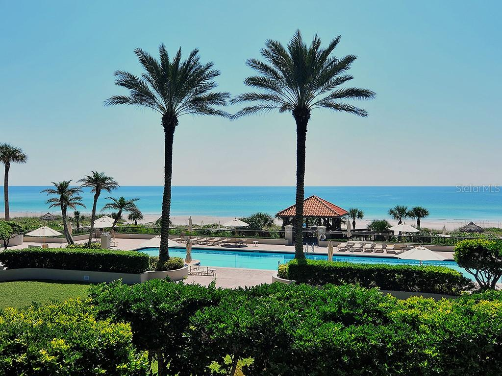 Pool Overlooking the Beach - Condo for sale at 1241 Gulf Of Mexico Dr #502, Longboat Key, FL 34228 - MLS Number is A4211248