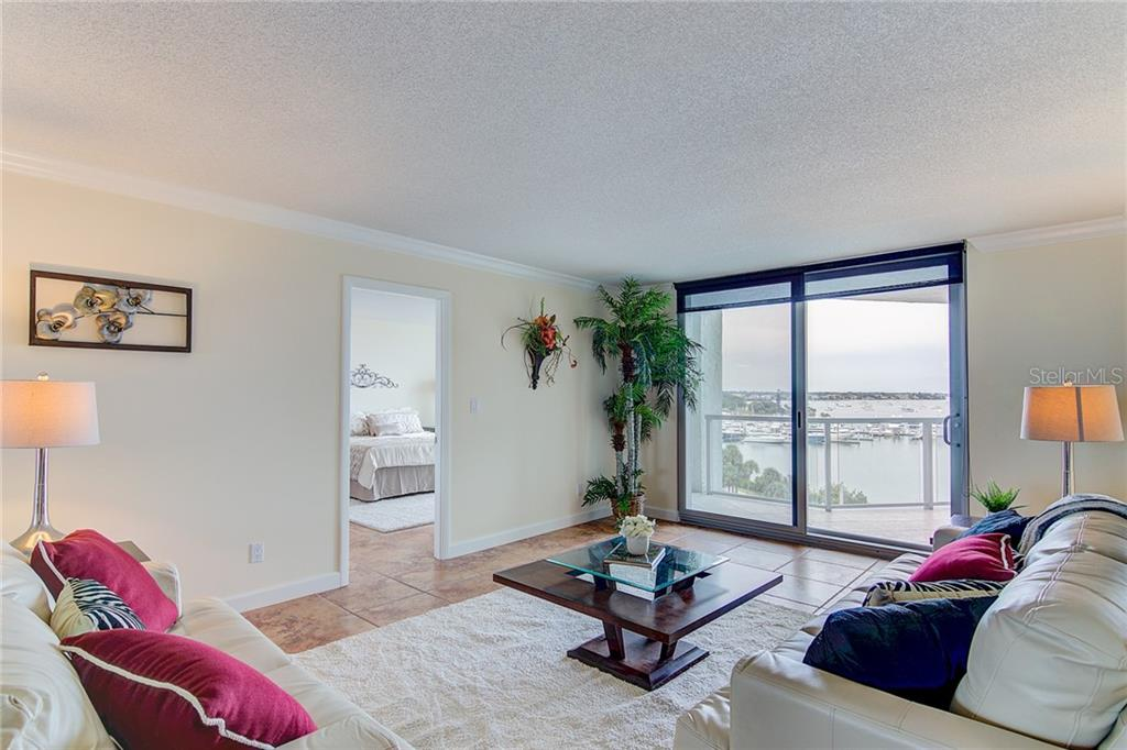 Balcony View of Marina Jack - Condo for sale at 1111 N Gulfstream Ave #7b, Sarasota, FL 34236 - MLS Number is A4212040
