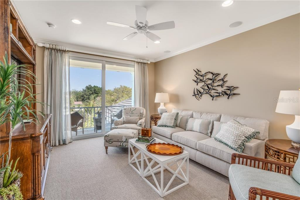 Upper level Bonus room sitting area - Single Family Home for sale at 1503 Blue Heron Dr, Sarasota, FL 34239 - MLS Number is A4212851