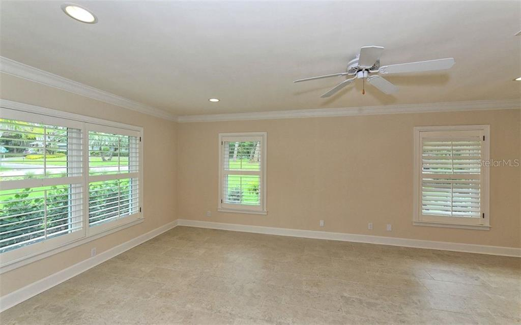 Light and bright master bedroom with private ensuite bath. - Single Family Home for sale at 1670 Bay View Dr, Sarasota, FL 34239 - MLS Number is A4400079