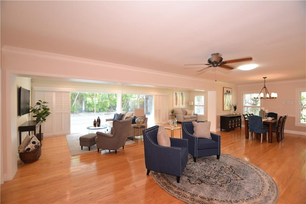Over 2700 sf of living space on one level. - Single Family Home for sale at 1670 Bay View Dr, Sarasota, FL 34239 - MLS Number is A4400079