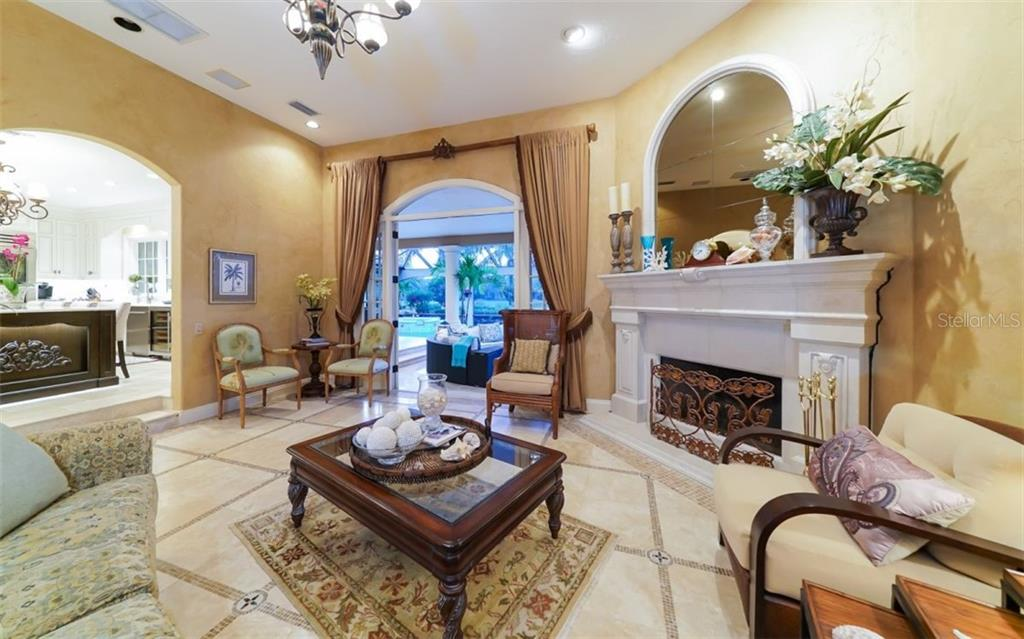 Formal Living Room - Single Family Home for sale at 2912 Jeff Myers Cir, Sarasota, FL 34240 - MLS Number is A4400164