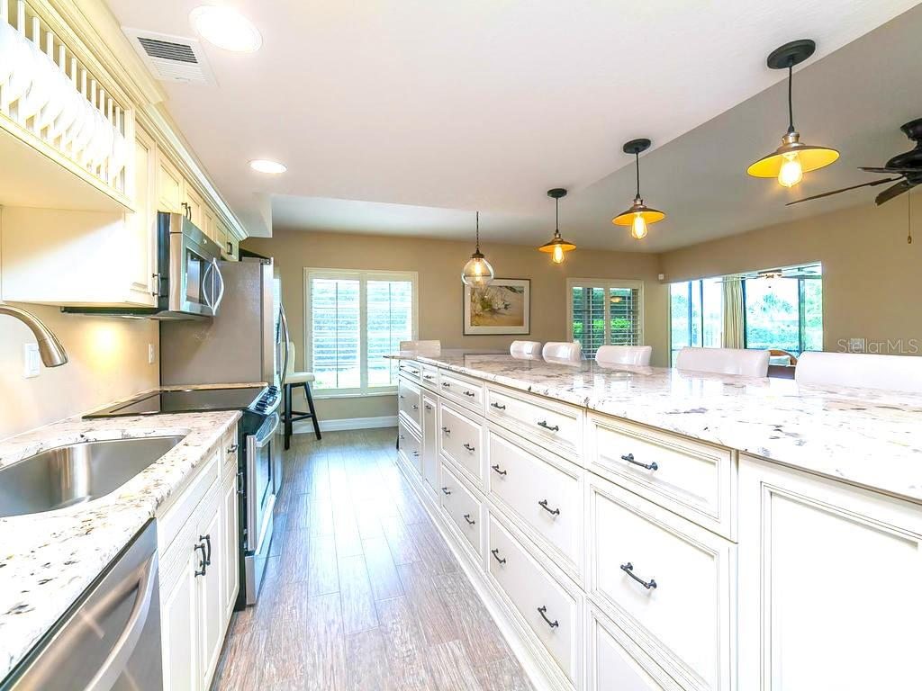 New, remodeled open kitchen. - Condo for sale at 4215 Gulf Of Mexico Dr #103, Longboat Key, FL 34228 - MLS Number is A4404956