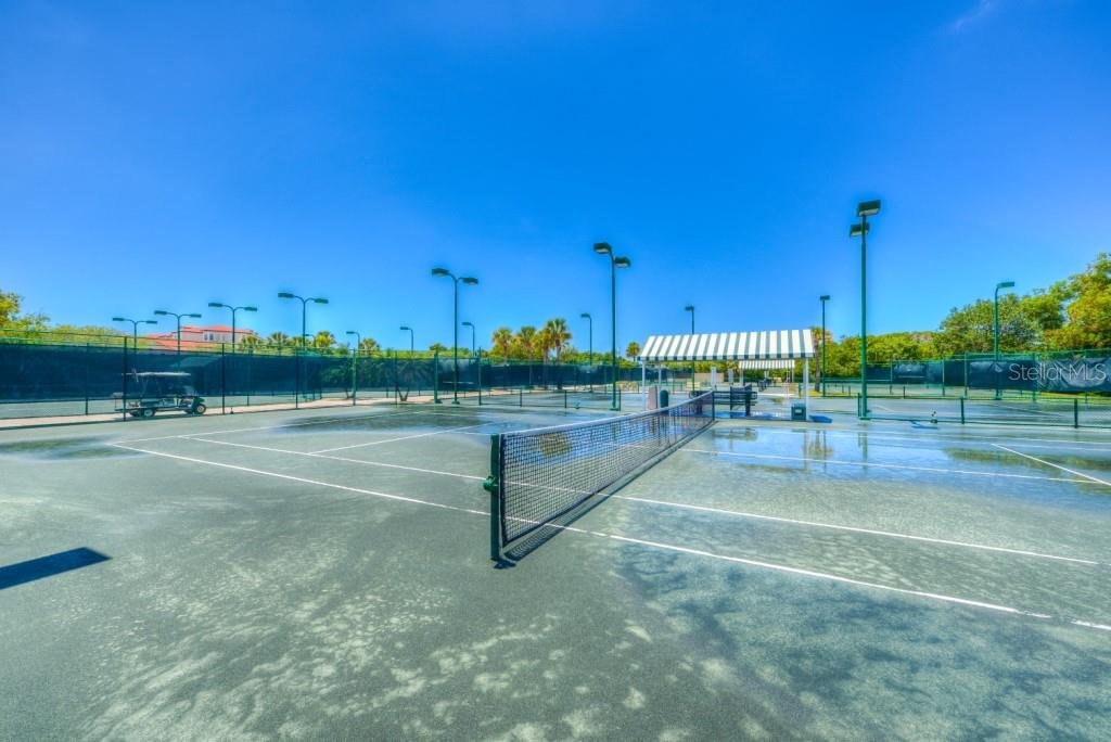 Community has 8 Har Tru tennis courts, 4 are lighted for nighttime play - Condo for sale at 1660 Starling Dr #202, Sarasota, FL 34231 - MLS Number is A4405877